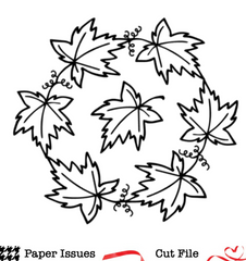 Grapevine Wreath-Free Cut File