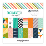 Document Life 6x6 Paper Pack-Pretty Little Studio