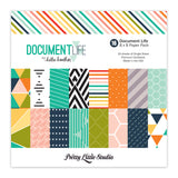 Document Life 8x8 Paper Pack-Pretty Little Studio