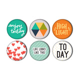Insta-Worthy Flair Buttons-Document Life-Pretty Little Studio