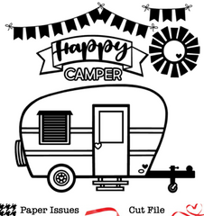 Happy Camper-Free Cut File