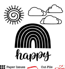 Happy Sunny Days-Free Cut File