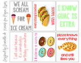 Eat All The Things Free Printable File