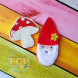 Gnome & Mushroom PaperPOPs Planner Clips