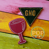 Wine & Girl's Night Out PaperPOPs Planner Clips