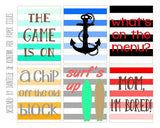 Chip Off The Old Block Free Printable File