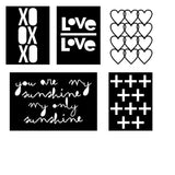 You Are My Sunshine/XO Cards Free Cut File