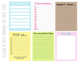 List All The Things-June Free Printable File