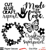 Made With Love-Free Cut File