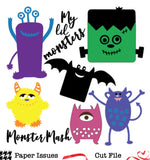 Monster Mash-Free Cut File