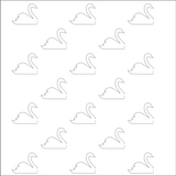 Foldable Swans Free Cut File