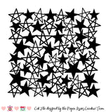 Star Background Free Cut File
