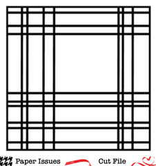 Perfectly Plaid-Free Cut File