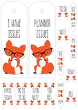 Planner Fox Free Print & Cut File