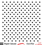 Polka Dots Background-Free Cut File