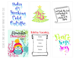 Remember December Free Printable File