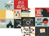 Say Cheese III 4x6 Horizontal Journaling Cards 12x12 Paper-Simple Stories
