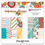 Bohemian Dreams 6x6 Paper Pack-Pretty Little Studio