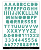 Teal Word Up Stickers-Bohemian Dreams-Pretty Little Studio