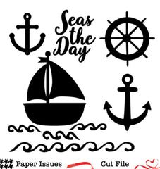 Seas The Day- Free Cut File