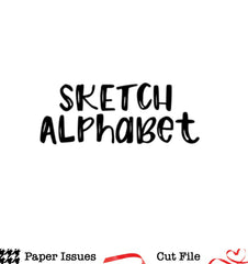 Sketch Alphabet-Free Cut File