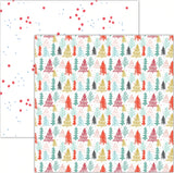 Oh Christmas Tree 12x12 Paper-Pretty Little Studio Glitter & Ice