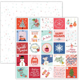 Advent 12x12 Paper-Pretty Little Studio Glitter & Ice
