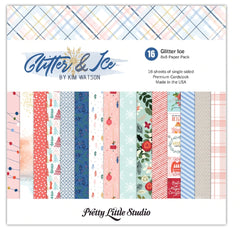 Glitter & Ice 8x8 Paper Pack-Pretty Little Studio