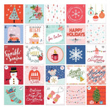 Advent Die Cuts-Glitter & Ice-Pretty Little Studio