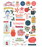 Happy Season Die Cuts-Glitter & Ice-Pretty Little Studio