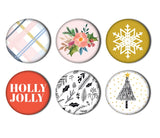 Holly Jolly Flair-Glitter & Ice-Pretty Little Studio