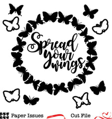 Spread Your Wings-Free Cut File