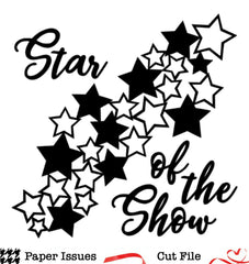 Star Of The Show-Free Cut File