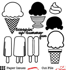 Sweet Summer Treats-Free Cut File