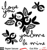 You & Me Poppy Flowers Free Cut File
