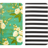 Floral & Stripe Traveler's Notebooks-Webster's Pages Color Crush