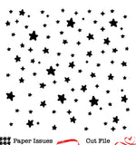 Twinkle Stars Background-Free Cut File