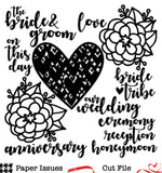 Wedding Day-Free Cut File