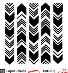 Wonky Chevron-Free Cut File