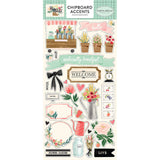 Chipboard Accents Stickers-Carta Bella Flower Market