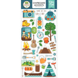 Chipboard Accents Stickers-Echo Park Summer Adventure