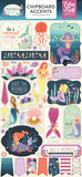 Chipboard Accents Stickers-Mermaid Dreams-Echo Park