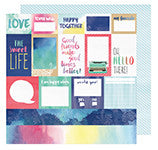 Each + Every 12x12 Paper-Amy Tangerine Better Together