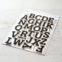 Adore Alphabet Stamps-Everyday Musings-Pinkfresh Studio