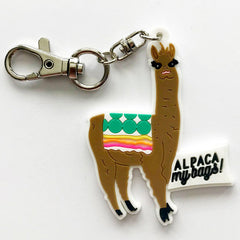 Alpaca My Bags Planner Charm On Our Way-Fancy Pants