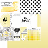 April 12x12 Paper-Webster's Pages-These Are The Days