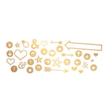 Gold Arrows Icons-Heidi Swapp Letterboard