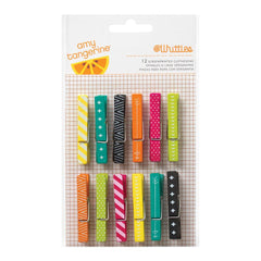 Plus One Clothespins-Amy Tangerine