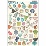 Woodland Park Chip N Stick Banners-October Afternoon-