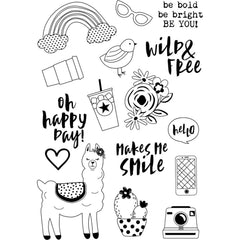 Be You Stamps-Simple Stories Oh Happy Day
